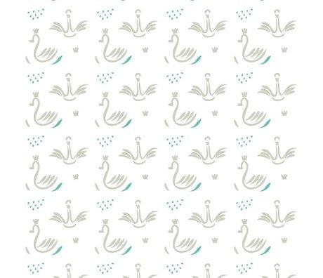 Roomblush Behang Swans grijs papier 1140x50cm