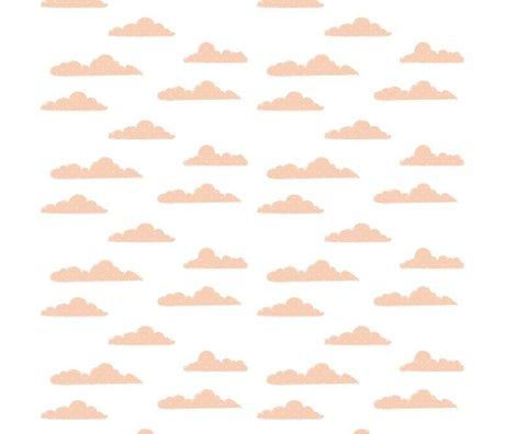 Roomblush Behang Clouds roze papier 1140x50cm