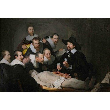 Arty Shock Schilderij Anatomische Les Rembrandt L multicolor plexiglas 100x150cm