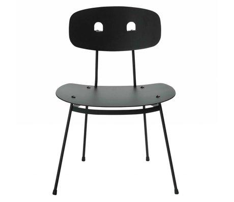 Tristan Frencken Loungestoel Bent Lounge Coal zwart aluminium 69x55x47,5cm