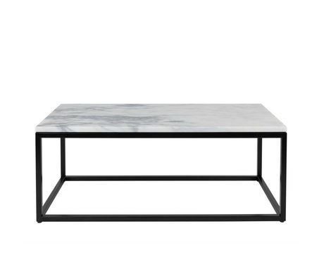 Zuiver Salontafel Marble Power marmer 90x40x35cm