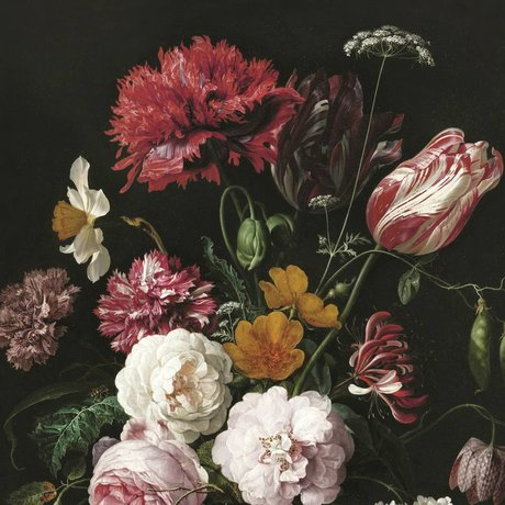 KEK Amsterdam Behang Golden Age Flowers II multicolor vliespapier 292,2x280cm