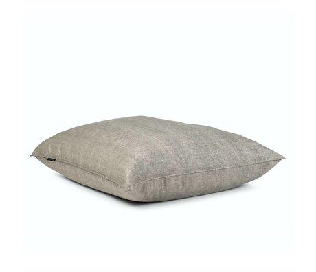 BRYCK Kussen Pillow GREYskill grijs textiel 120x120cm