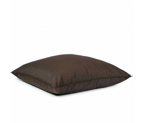 BRYCK Kussen Pillow BROWNearth bruin textiel 120x120cm