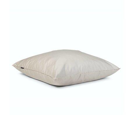 BRYCK Kussen Pillow WHITEbroken wit textiel 120x120cm