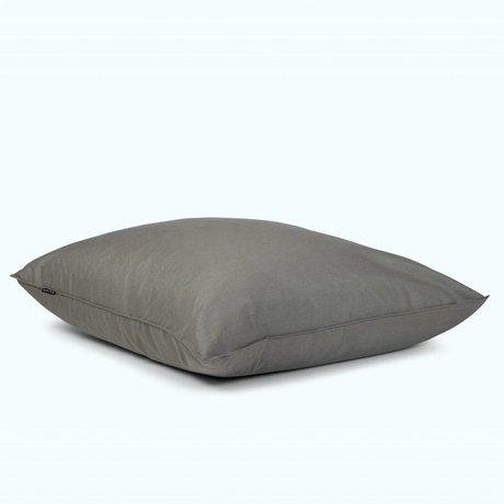 BRYCK Kussen Pillow GREYlight grijs textiel 120x120cm
