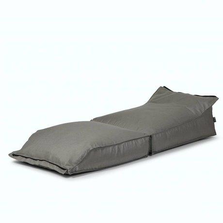 BRYCK Ligstoel Stretch GREYlight grijs textiel 70x35x180cm