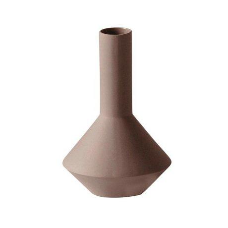 Ferm Living Vaas Sculpt Pod roze porselein ø12x18cm