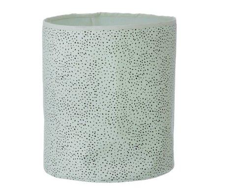 Ferm Living Mand Dot mint groen katoen medium 35x40cm