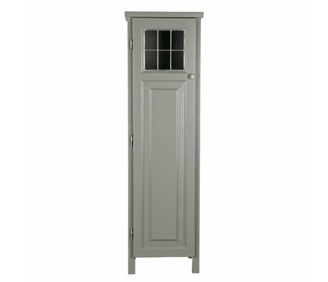 BePureHome Kast Souterrain grijs grenen hout 153x37x45cm