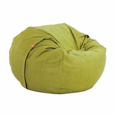 Vetsak Zitzak Neo eenpersoons groen polyester ø110x70cm 600liter