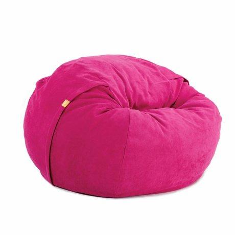 Vetsak Zitzak Neo eenpersoons roze polyester ø110x70cm 600liter
