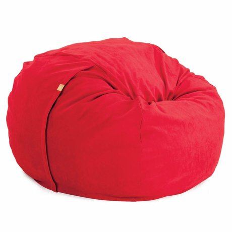 Vetsak Zitzak Neo tweepersoons rood polyester ø140x90cm 1000liter