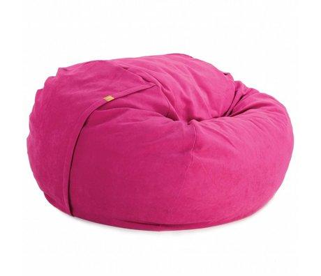 Vetsak Zitzak Neo tweepersoons roze polyester ø140x90cm 1000liter