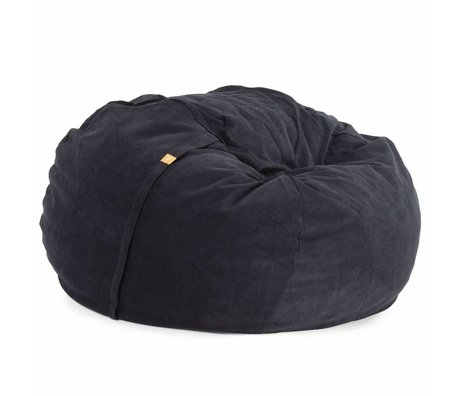 Vetsak Zitzak Neo tweepersoons zwart polyester ø140x90cm 1000liter