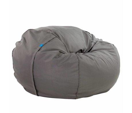 Vetsak Zitzak Free outdoor tweepersoons grijs polyester ø140x90cm 1000liter