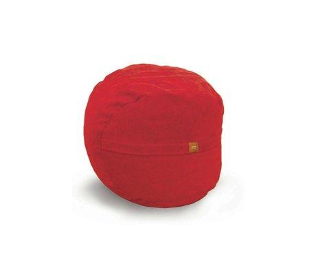 Vetsak Voetenbank Neo rood polyester ø60x45 60liter