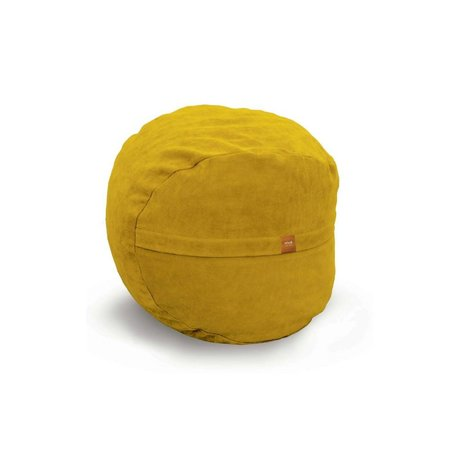 Vetsak Voetenbank Neo geel polyester ø60x45 60liter