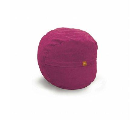 Vetsak Voetenbank Neo roze polyester ø60x45 60liter