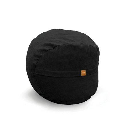 Vetsak Voetenbank Neo zwart polyester ø60x45 60liter