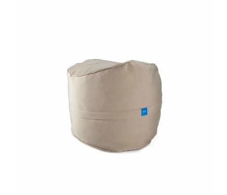 Vetsak Voetenbank Free outdoor beige polyester ø60x45 60liter