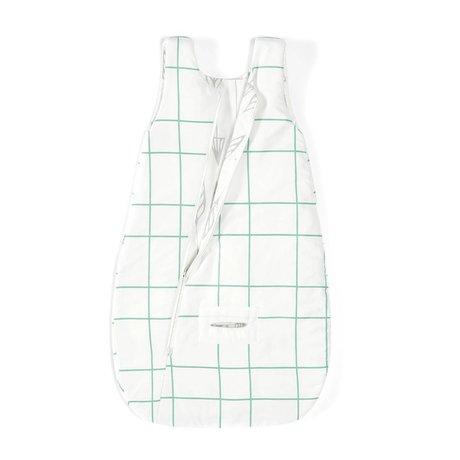 Roomblush Slaapzak Arrows grijs groen katoen 75x42cm