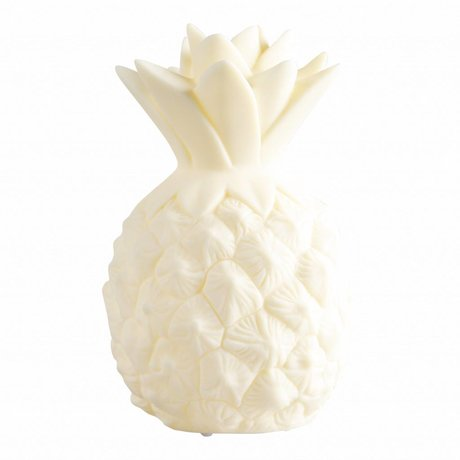 A Little Lovely Company Tafellamp Ananas geel 15cm