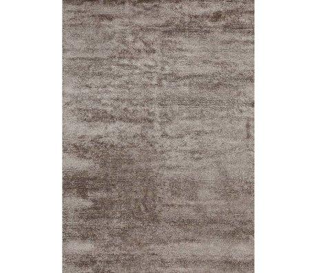 LEF collections Vloerkleed Banana bruin textiel 160x230cm