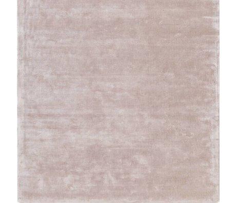 LEF collections Vloerkleed Bogata poeder roze textiel 160x230cm