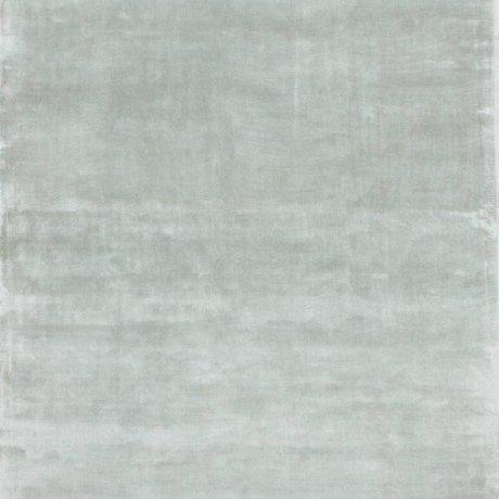 LEF collections Vloerkleed Bogata pastel blauw textiel 160x230cm