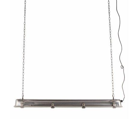 Zuiver Hanglamp G.T.A XL nickel, metaal grijs 130x14x10cm