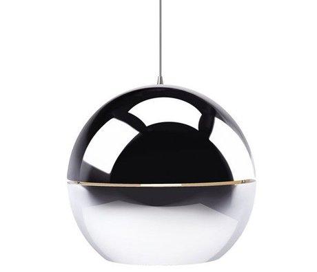 Zuiver Hanglamp 'Retro 70' chrome metaal Ø40x37cm