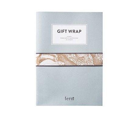 Ferm Living Boek cadeaupapier multicolour 30x42cm
