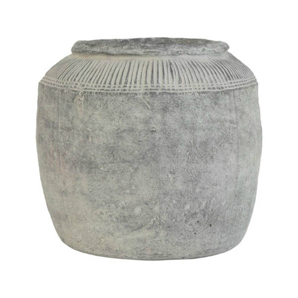 HK - living Bloempot cement large