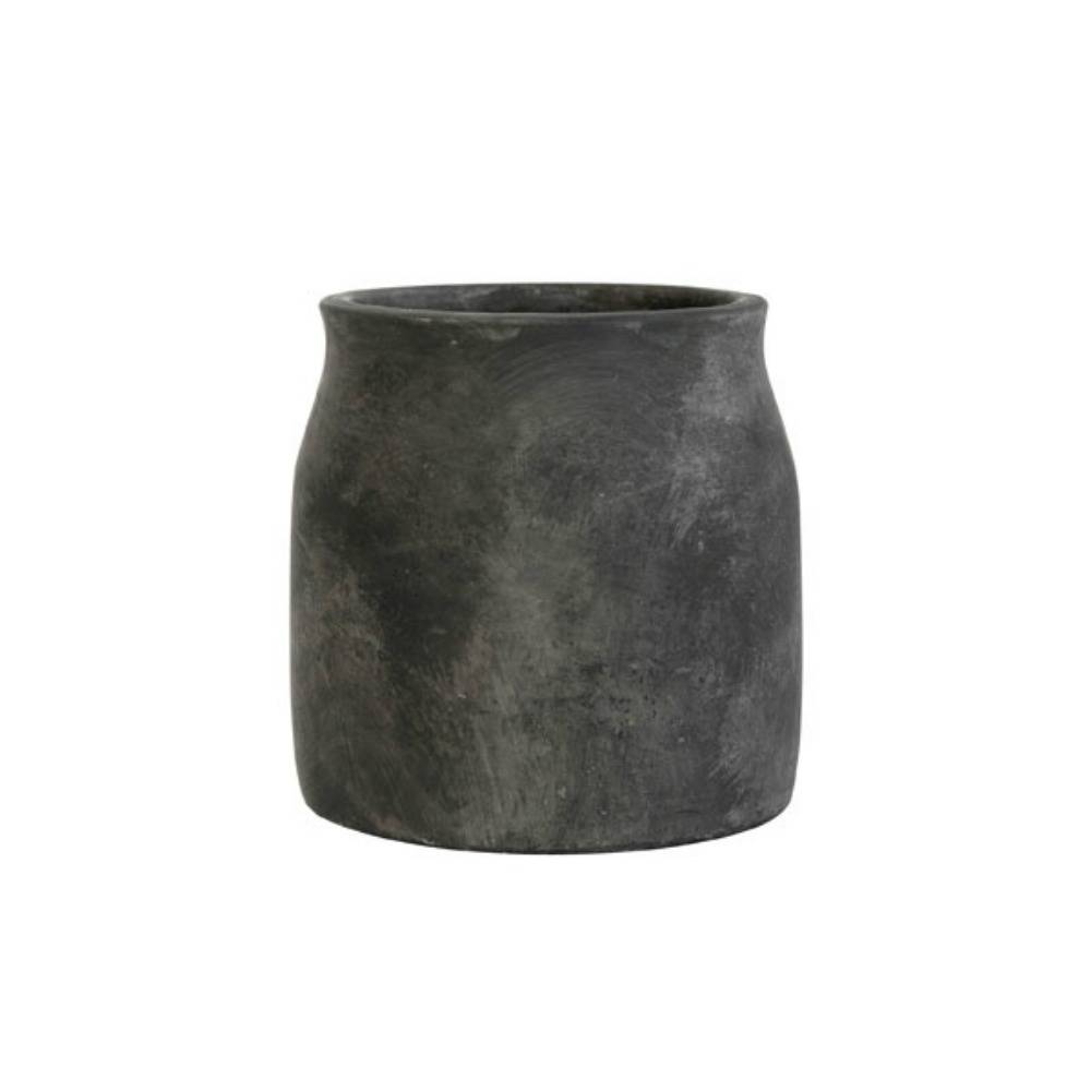 HK - living Bloempot cement medium 16, 5x16, 5x17cm
