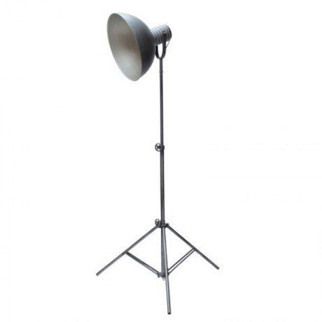 LEF collections Vloerlamp urban grijs metaal 80x190cm