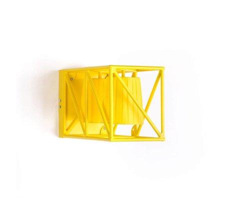 Seletti Wandlamp Multilamp Wall yellow geel metaal 38x22x17,5cm