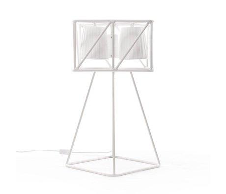 Seletti Tafellamp Multilamp Table wit metaal 35x35x66cm