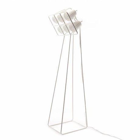 Seletti Vloerlamp Multilamp Floor wit metaal 53x51x180cm