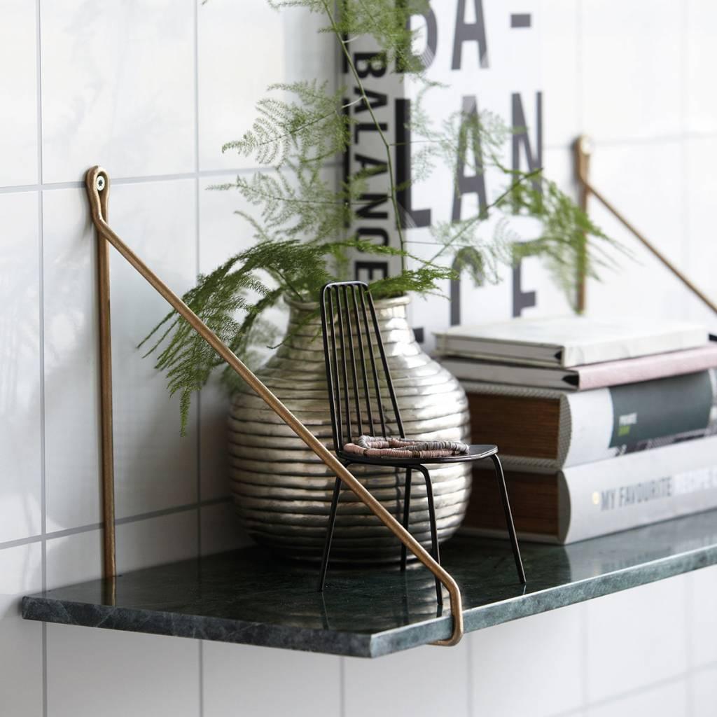 Housedoctor Wandplank Marble, groen marmer 24x70cm - lefliving.be