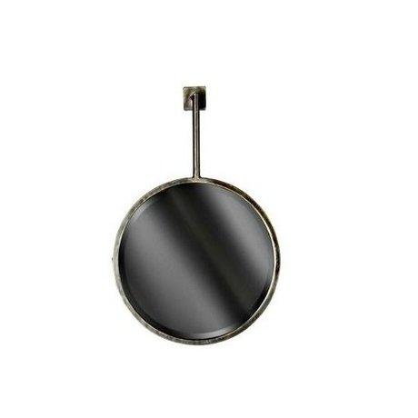 BePureHome Spiegel Chain mirror zwart metaal 53x39x22cm