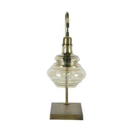 BePureHome Tafellamp Obvious brass goud metaal 49x20x16cm