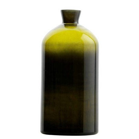 BePureHome Vaas Chemistry groen glas XL 40xØ17cm