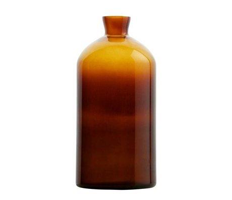 BePureHome Vaas Chemistry oranje/bruin glas XL 40xØ17cm
