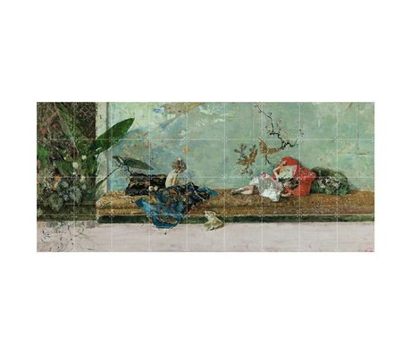 IXXI Wanddecoratie Fortuny The painter's children multicolour papier L 180x80cm