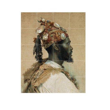 IXXI Wanddecoratie Tapiro The dancer multicolour papier S 80x100cm