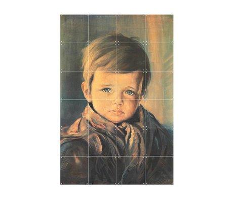 IXXI Wanddecoratie Crying boy multicolour papier S 80x120cm