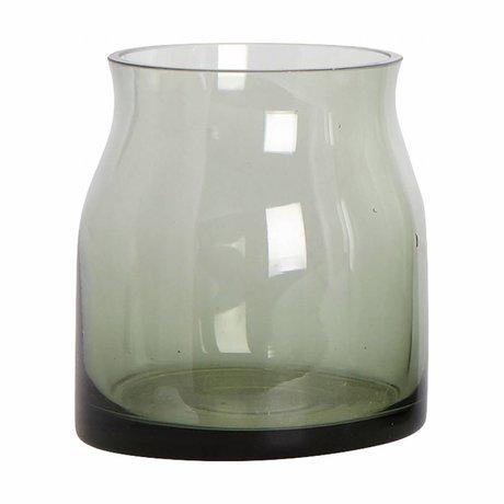 Housedoctor Vaas Ruby groen glas ø 8x9cm