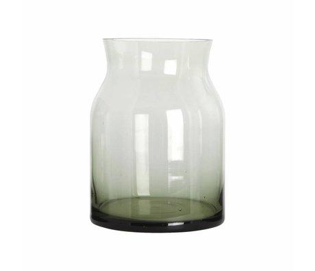 Housedoctor Vaas Ruby groen glas ø 15x20cm