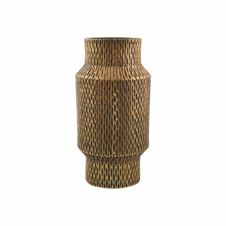 Housedoctor Vaas Cast brass goud Aluminium ø 8x16cm